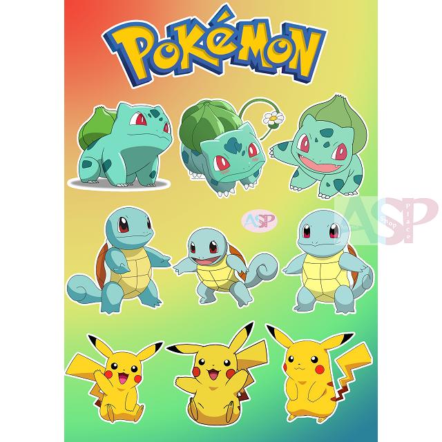 Стикеры Pokemon