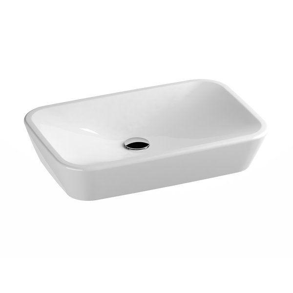 Накладная раковина Ravak Ceramic R 60х40 ФОТО