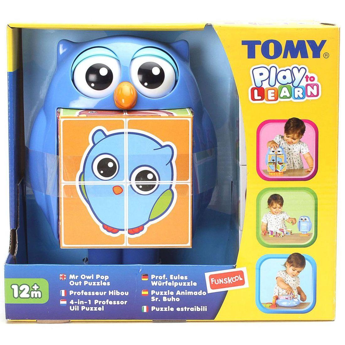 Tomy Игровой набор «Кубики-загадки от профессора Совы»