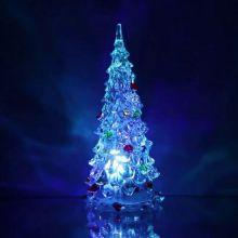 Светящаяся светодиодная ёлочка с шишками Marry Christmas, 22 см