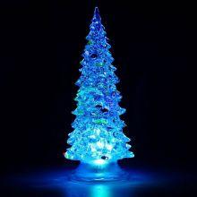 Светящаяся светодиодная ёлочка с шишками Marry Christmas, 27 см