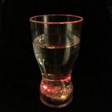 Стильный мерцающий стакан для коктейлей Fancy Light Glass, 1 шт