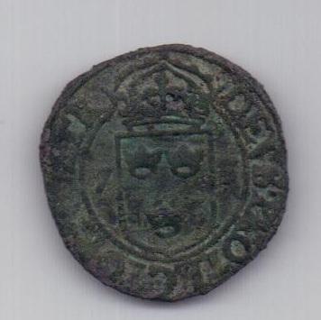 2 оре (эре) 1573 года Швеция