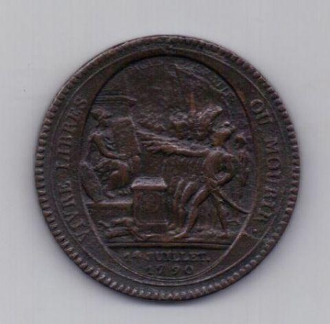 5 соль 1792 года Редкость!!! Франция Медальный выпуск