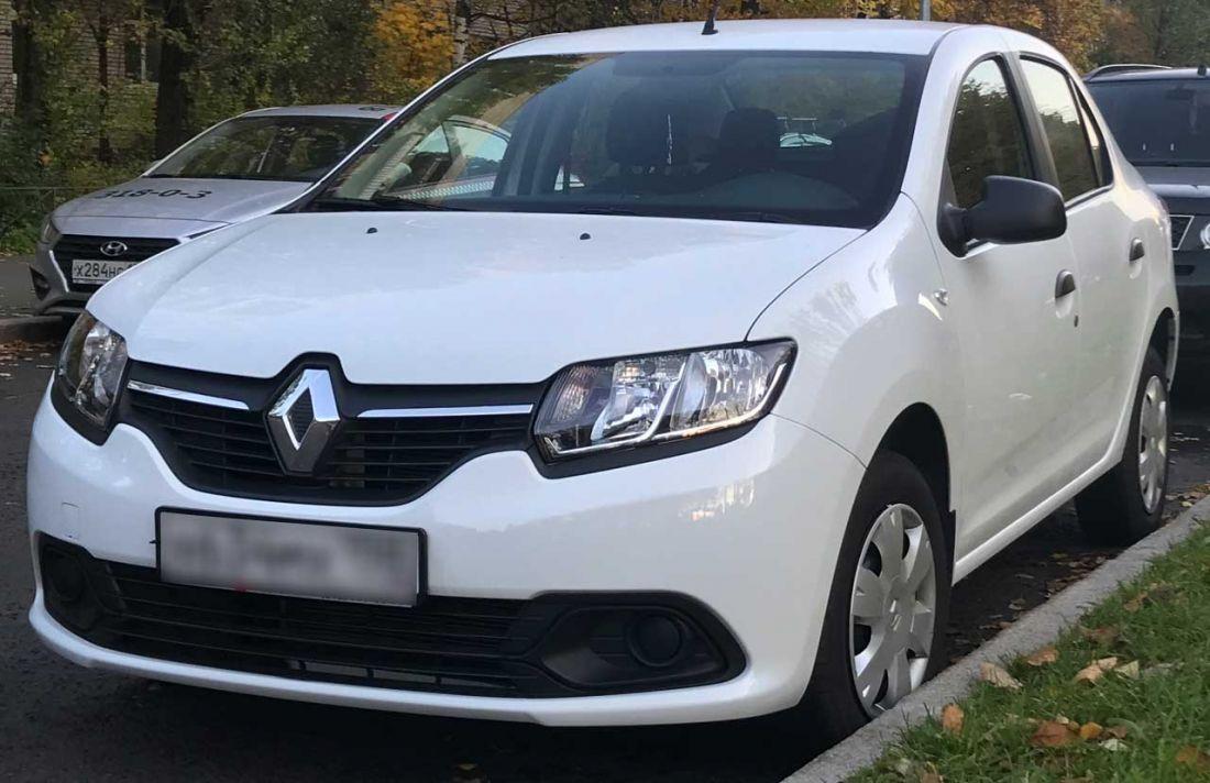 Renault Logan 2017г Автомат 1.6л. аренда и прокат авто в Санкт-Петербурге (Спб) без водителя недорого цена на сутки