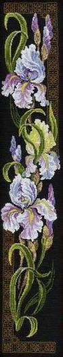 Набор для вышивания крестом Ирисы №841 фирма Риолис