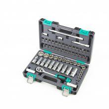"""Набор инструментов Stels1/2"""", CrV, пластиковый кейс 60 предметов"""