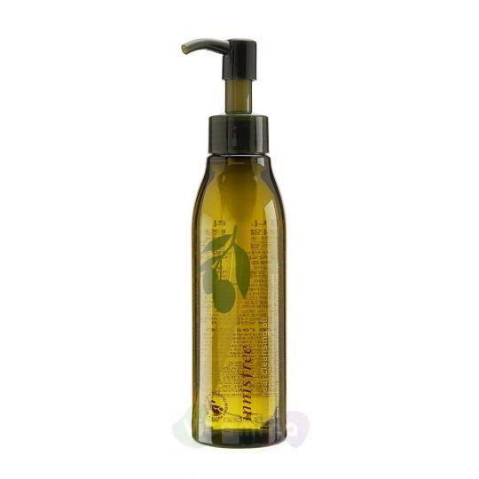 Innisfree Гидрофильное очищающее масло для лица с экстрактом оливы Olive Real Cleansing Oil, 150 мл