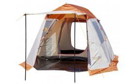 Палатка RockLand Camper 4 беж/красный