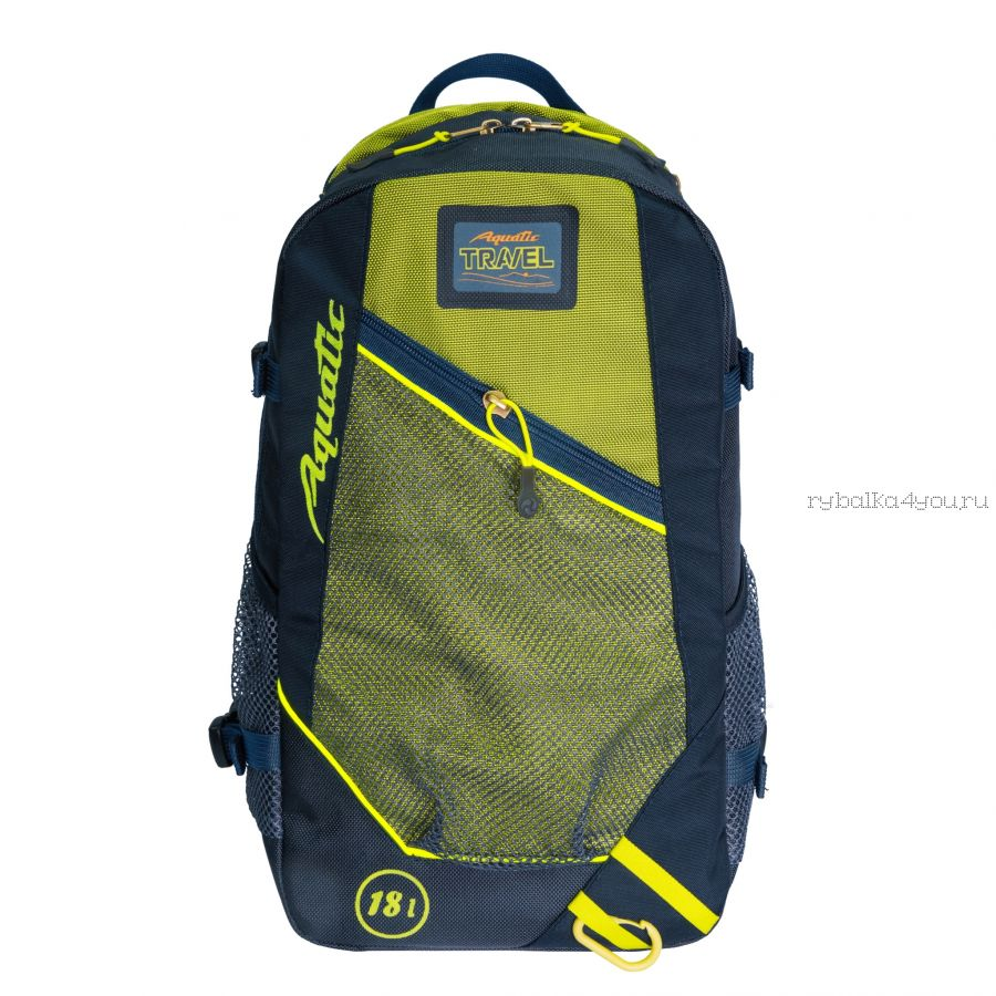 Рюкзак  Aquatic трекинговый  Р-18С  (цвет: синий)