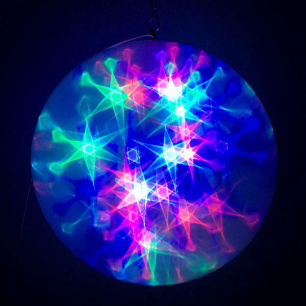 Большой эксклюзивный шар с LED светодиодами, 45 см