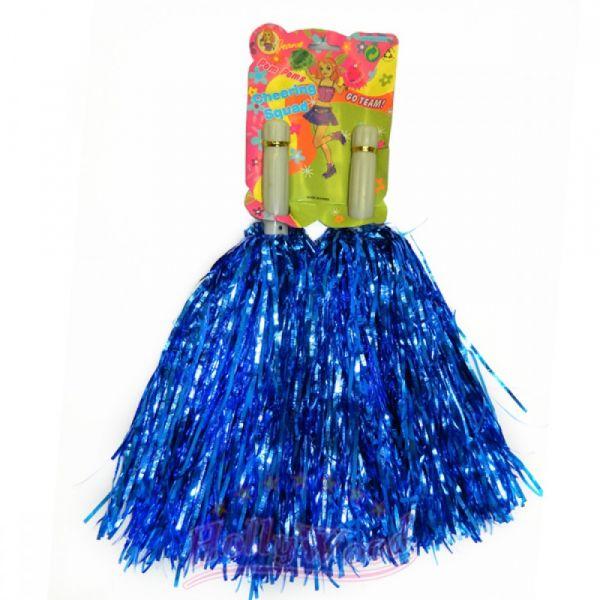 Помпоны для черлидинга и танцев Pom Poms, Синий