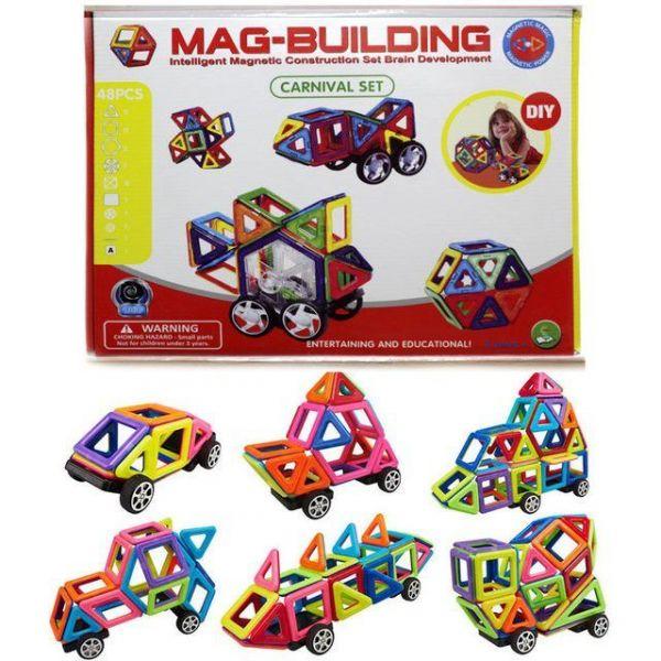Магнитный конструктор Mag-Building 48 деталей