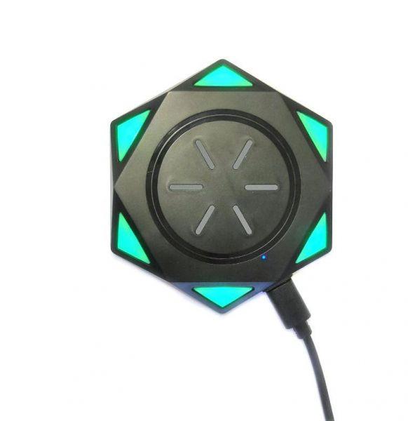 Беспроводное зарядное устройство Star Drill Wireless Charging BC-18, черный
