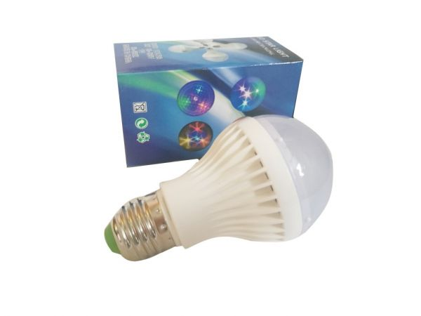 Светодиодная цветная LED-лампа Звезды