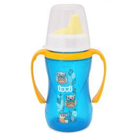 Чашка-непроливайка LOVI Folky 250мл с 12мес