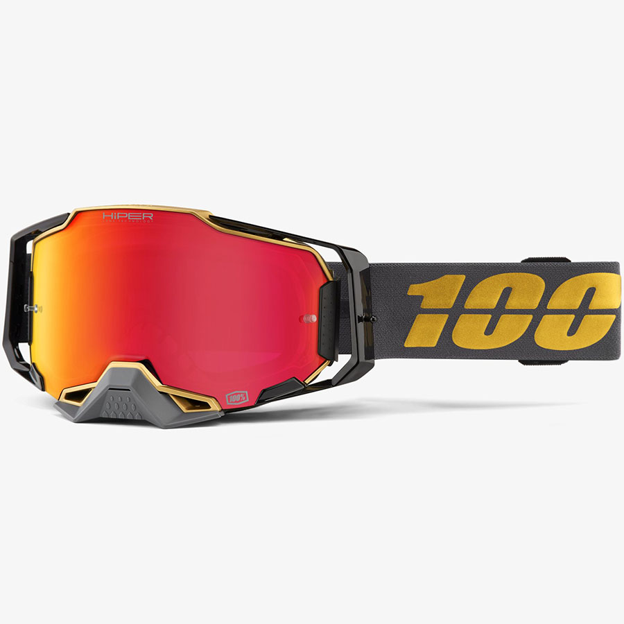 100% Armega Falcon5 HiPER Red Mirror Lens, очки