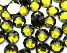 Стразы SS4 стекло (Olivine) 1440шт.
