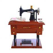 Винтажная мини-швейная машинка №3 (МУЗЫКАЛЬНАЯ)