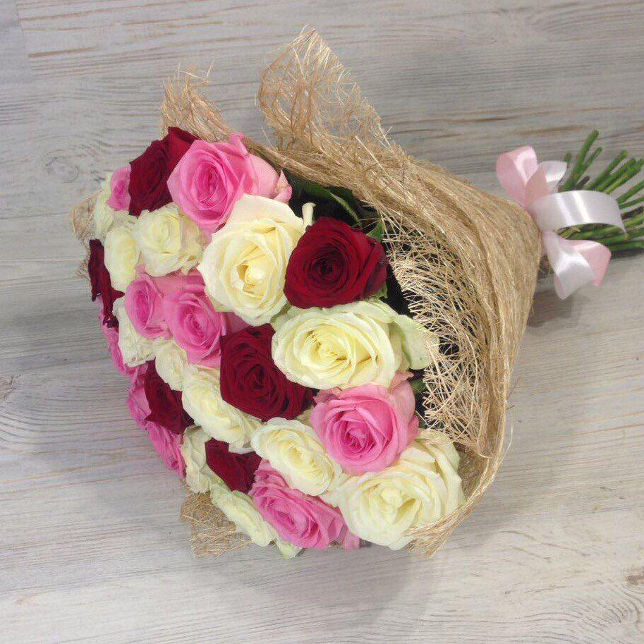 Букет из роз 29 штук «Красота любви»