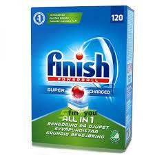 FINISH All in1 таблетки для ПММ 112 шт