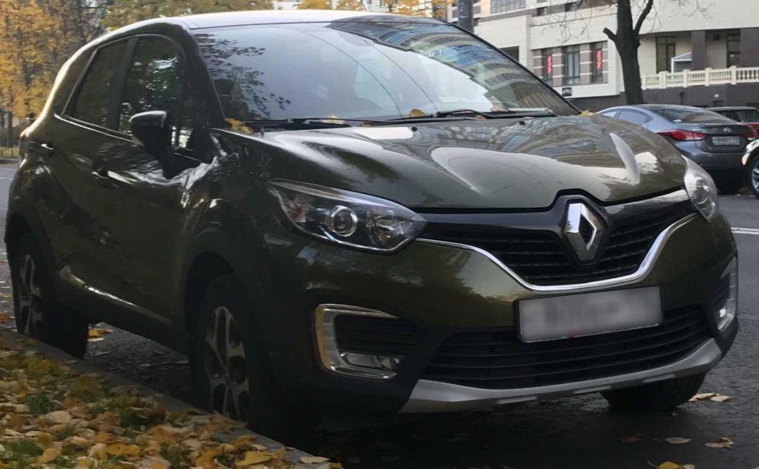 Renault Kaptur 2017 года Автомат 2.2л.