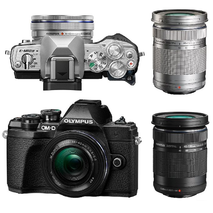 Olympus OM-D E-M10 Mark III Double Kit 14-42 EZ 40-150