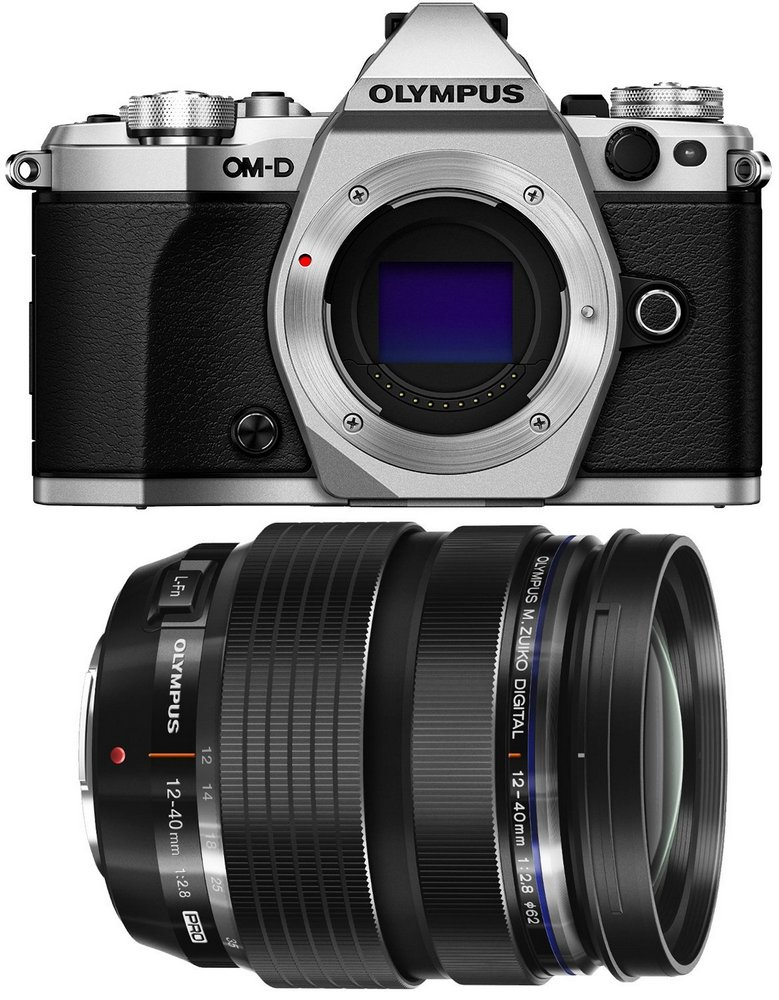Olympus OM-D E-M5 mark II kit 12-40mm f/2.8 Black