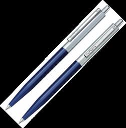 синие ручки Senator Point Metal
