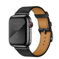 Apple Watch Hermes Series 5 40mm Space Black with Leather Single Tour