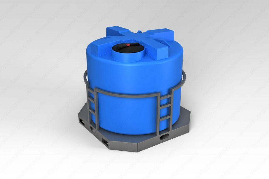 Емкость T 2000 литров в обрешетке