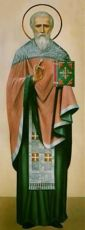 Икона Зотик Сиропитатель священномученик