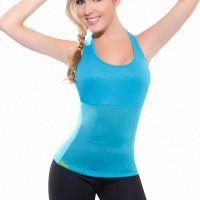Майка для похудения Hot Shapers (Хот Шейперс), цвет голубой