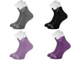 Махровые женские  носки с 207