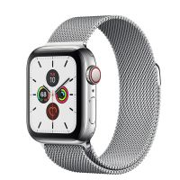 Apple Watch Series 5 44mm Stainless Steel Silver Milanese Loop