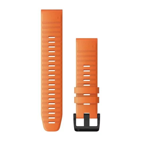 Ремешок сменный QuickFit 22мм силиконовый оранжевый