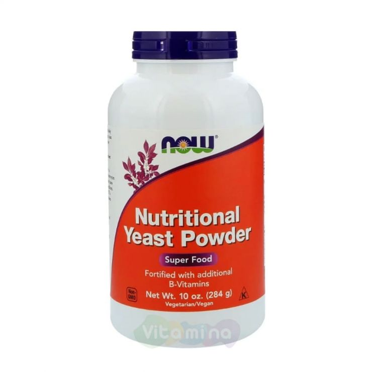 Now Foods Пищевые дрожжи Nutritional Yeast Powder, 284 гр.