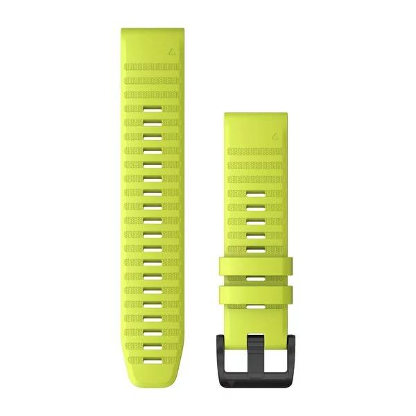 Ремешок сменный QuickFit 22мм силиконовый желтый