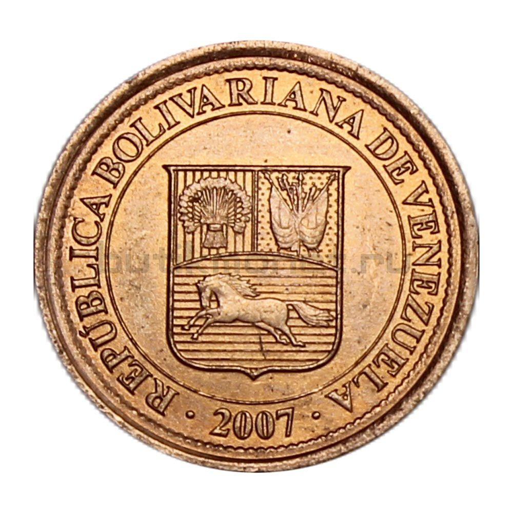 5 сентимо 2007 Венесуэла