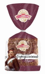 Хлеб Аладушкин Бородинский нарезанный 350гр