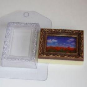 Форма для мыла и шоколада Рамка/Прямоугольник