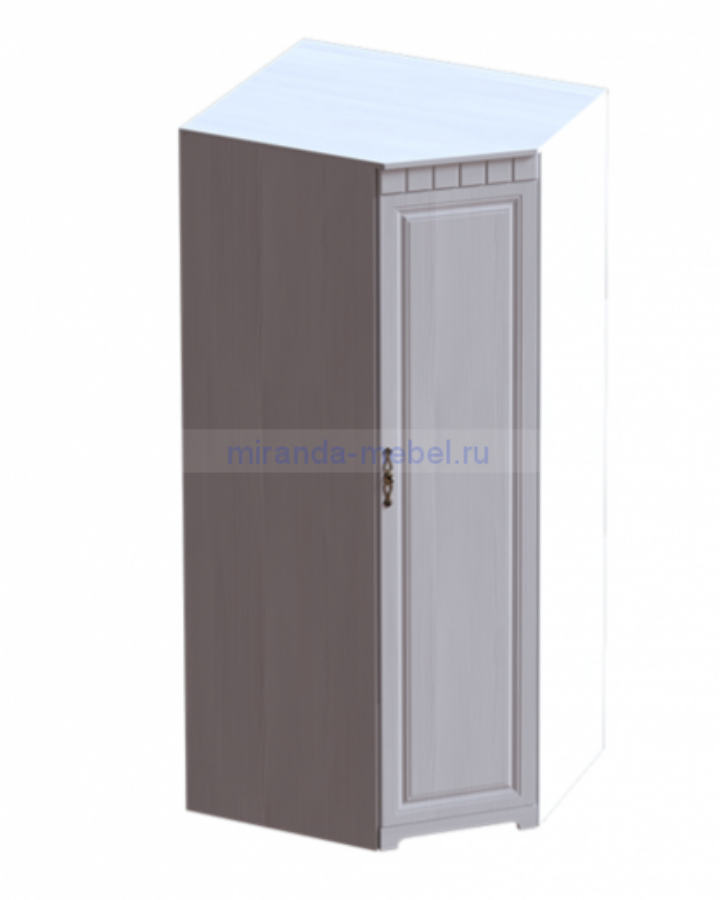 Прованс спальня шкаф угловой