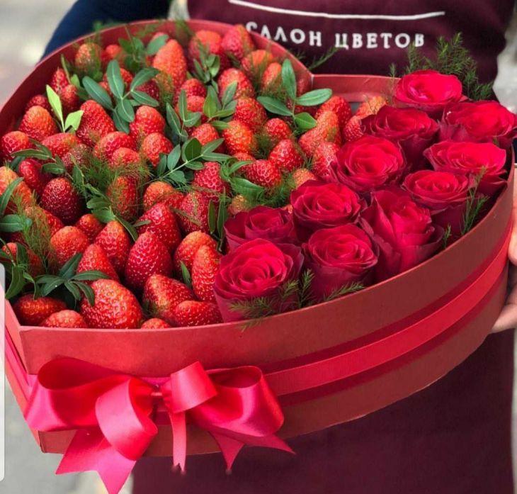 Вкусная коробочка цветов