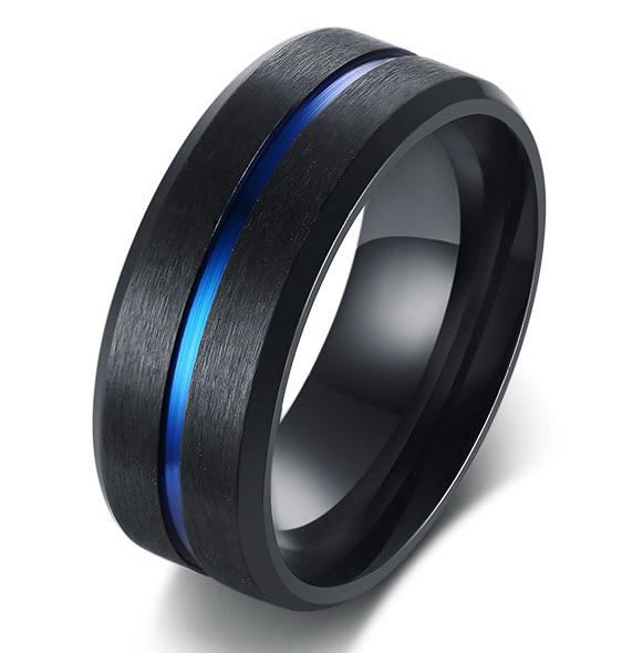Титановое кольцо R9621
