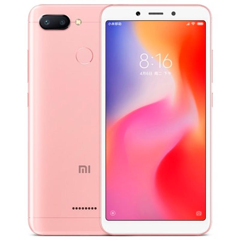 Смартфон Xiaomi Redmi 6 3/32Gb Rose Gold