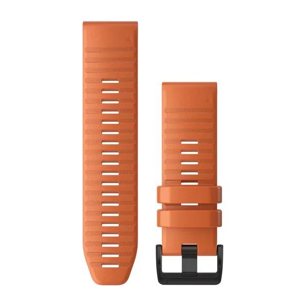 Ремешок сменный QuickFit 26мм силиконовый оранжевый