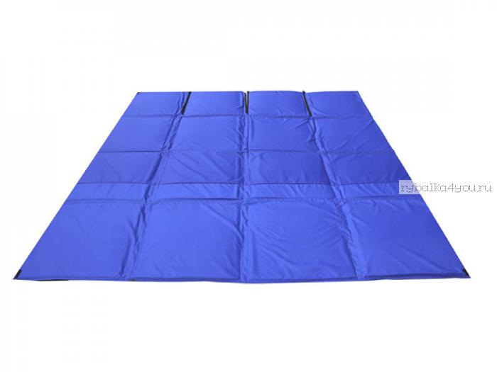 Пол для палатки СТЭК КУБ 2 (1,75х1,75м) синий Оксфорд 300