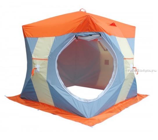 Палатка для зимней рыбалки Митек НЕЛЬМА-Куб 2 Люкс с внутренним тентом