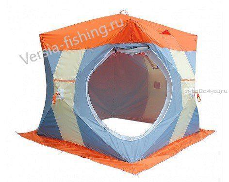 Палатка для зимней рыбалки НЕЛЬМА Куб 3 Люкс Митек (баня)