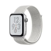Apple Watch Series 4 Nike+ 44mm Silver Aluminum Case with Summit White Nike Sport Loop